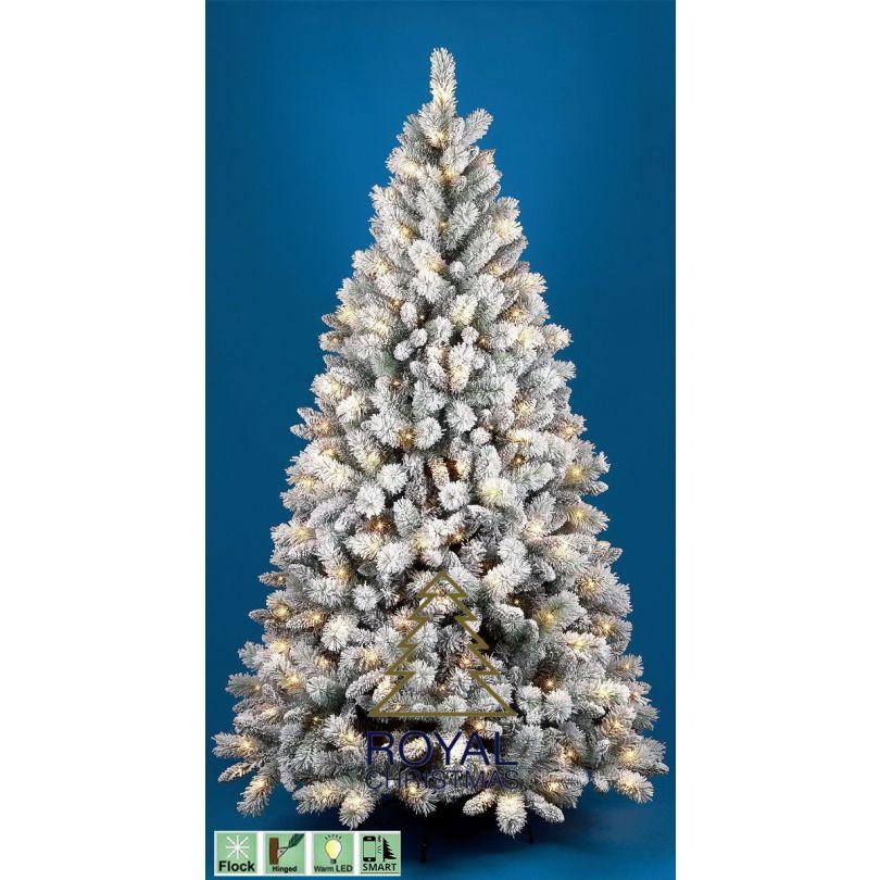 Albero Di Natale 250 Cm.Albero Di Natale Artificiale Clinton Pp Pvc Innevato Warm Led 150 Cm Modello Naturale Alta Qualita Mix Di Materiale Pp Pvc Coperto Di Neve