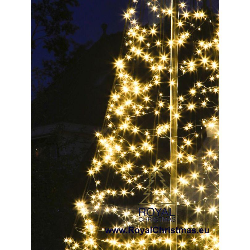 Albero Di Natale 6 Mt.Fairybell Luci Natalizie Albero Di Natale Pennone 6 Metri 600 Cm 900 Led Albero Di Natale Per Ogni Giardino Con Calda Illuminazione A Led Alta Qualita Led Bianco Caldo