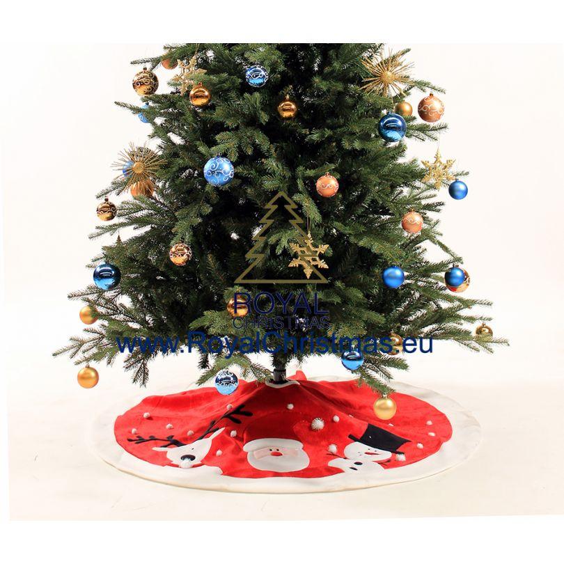 Albero Di Natale 120 Cm.Tappeto In Seta Con Albero Di Natale Artificiale Con Renne Babbo Natale E Pupazzo Di Neve 120 Cm Panno Di Seta Per Coprire Il Piede Sotto Il Tuo Albero Di Natale Artificiale